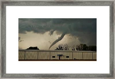 Canadian Tx Tornado Framed Print