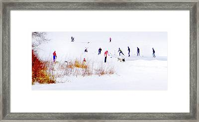 Framed Print featuring the photograph Canadiana by John Poon