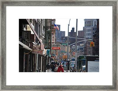 Canal And Eldridge Framed Print by Rob Hans