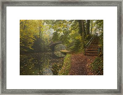 Canal Crossing Framed Print by Chris Fletcher