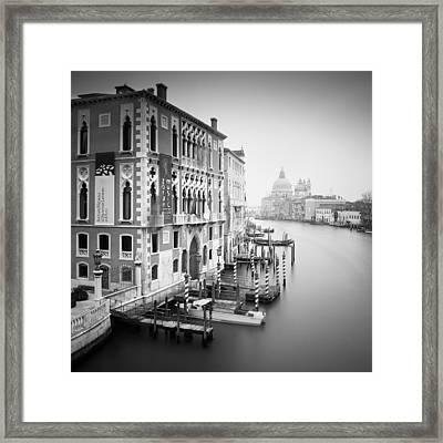 Canal Grande Study I Framed Print