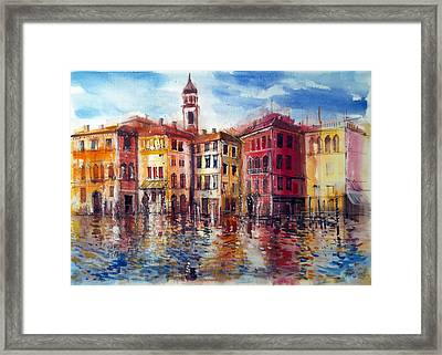 Canal Grande Venice Framed Print by Lorand Sipos