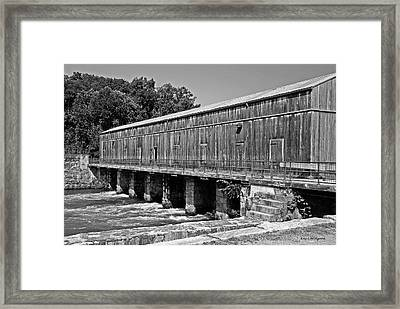 Canal Headgates Framed Print