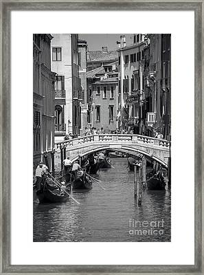 Canal In Venice Framed Print by Svetlana Sewell