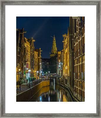 Canal Life Framed Print