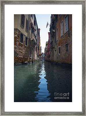 Canal Of Venice Framed Print by Svetlana Sewell