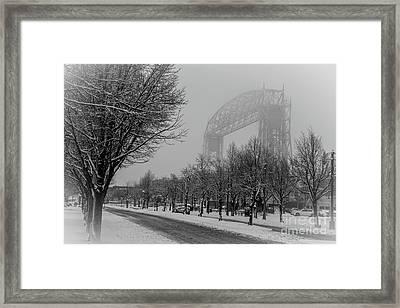 Canal Park Framed Print