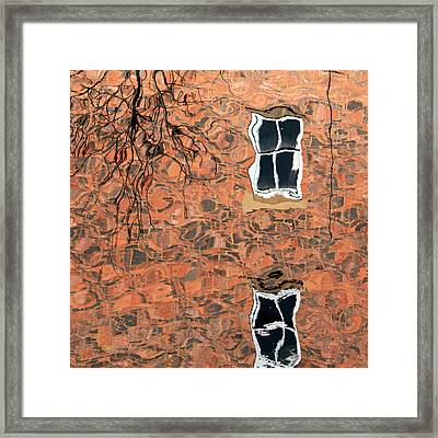 Canal Reflections 1 Framed Print