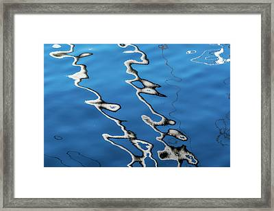 Canal Reflections 2 Framed Print