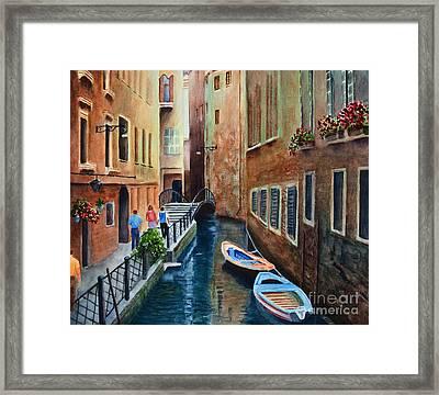 Canal St. Framed Print