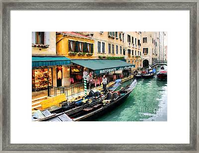 Canals Of Venice # 3 Framed Print