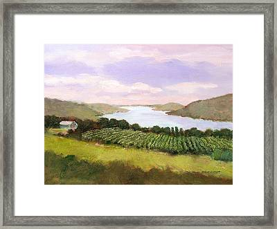 Canandaigua Lake Framed Print