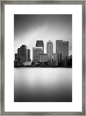 Canary Wharf II, London Framed Print by Ivo Kerssemakers