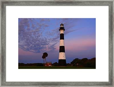Canaveral Light Framed Print
