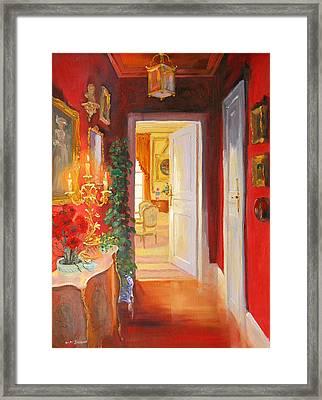 Candelabra Framed Print by William Ireland