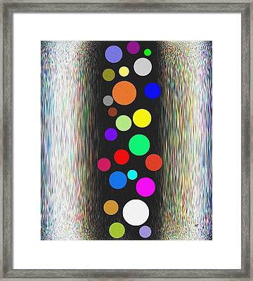 Candid Color 10 Framed Print by Will Borden