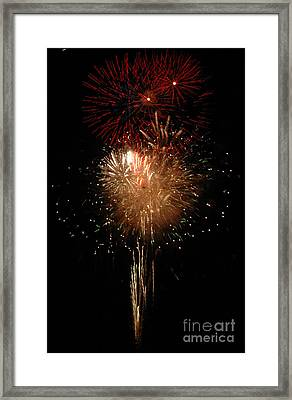 Candle Burst Framed Print by Norman Andrus