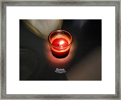 Candle Inspired #1173-3 Framed Print