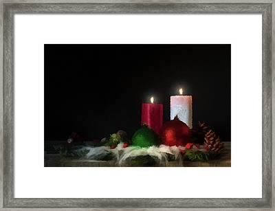 Candlelight  Framed Print by David Dehner