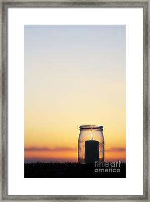 Candlelight Framed Print by Tim Gainey