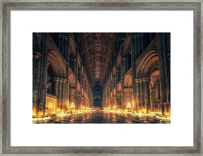 Candlemas - Nave Framed Print