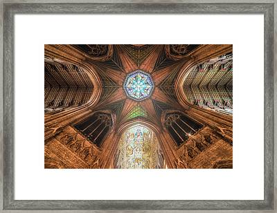Candlemas - Octagon Framed Print