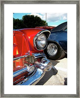 Candy Apple 57 Framed Print by Sue Stefanowicz