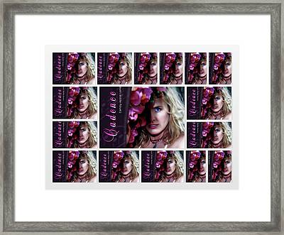 Candy Apple Lane New Release By Cadence Spalding Framed Print by Cadence Spalding