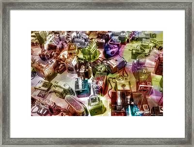 Framed Print featuring the photograph Candy Camera by Michaela Preston