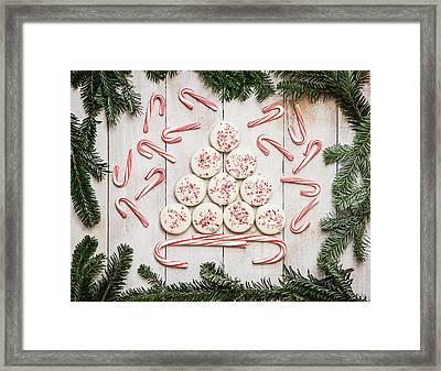Framed Print featuring the photograph Candy Cane Lane by Kim Hojnacki