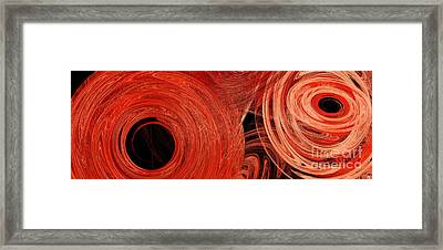 Candy Chaos 1 Abstract Framed Print by Andee Design