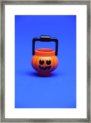 Candy Collector Framed Print by Samuel Whitton
