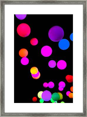 Candy Crush Framed Print by Az Jackson