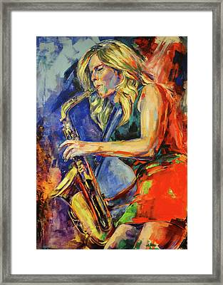 Candy Dulfer, Lily Was Here Framed Print