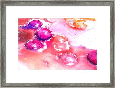 Candy In Bright Sunlight Framed Print