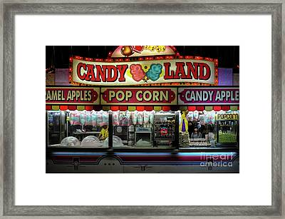 Candy Land Framed Print