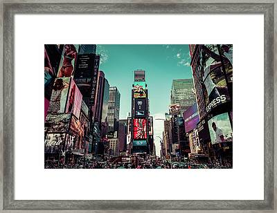 Candy Land Nyc Framed Print