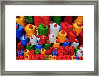Candy Land Framed Print by Skip Hunt