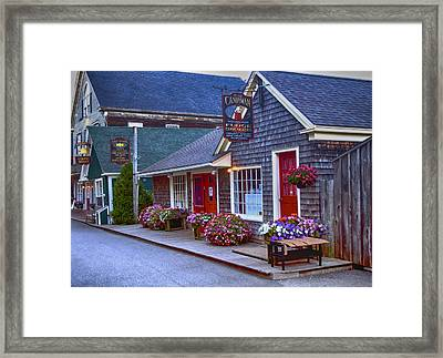 Candy Lane Framed Print