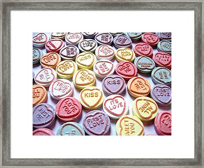 Candy Love Photography Framed Print