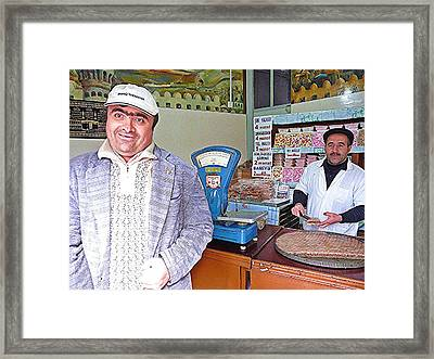 Candy Man And Friend Framed Print