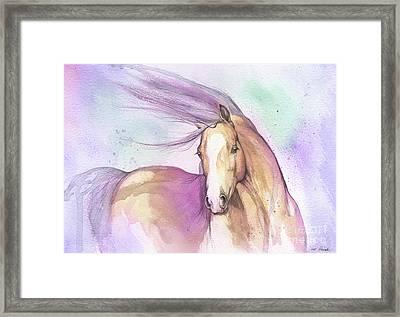 Candy Pony Framed Print