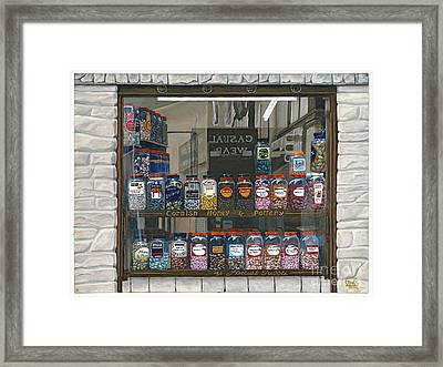 Candy Shoppe Framed Print