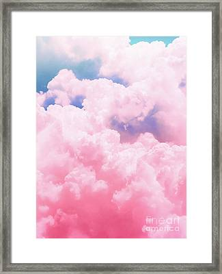 Candy Sky Framed Print