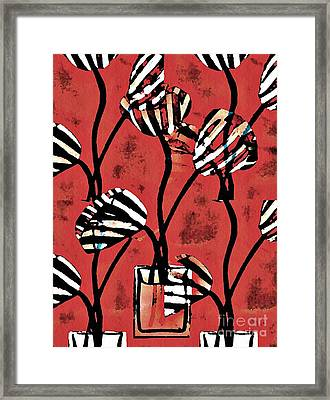 Candy Stripe Tulips 2 Framed Print