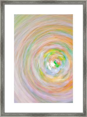 Candy Swirl Framed Print by Claus Siebenhaar