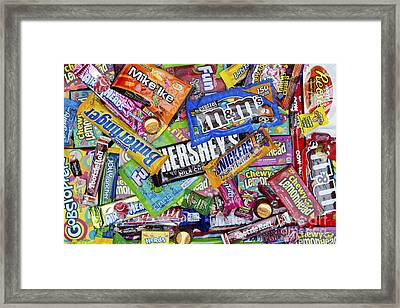 Candy Framed Print by Tim Gainey