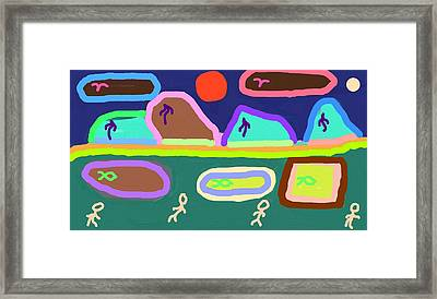 Candyland Framed Print by Thomas Smith