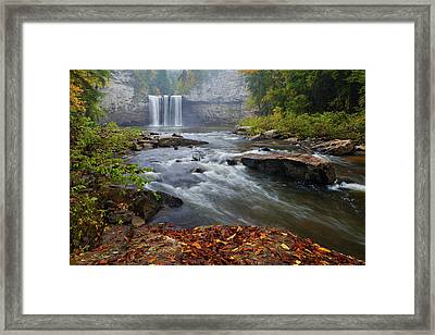 Cane Creek Falls Framed Print