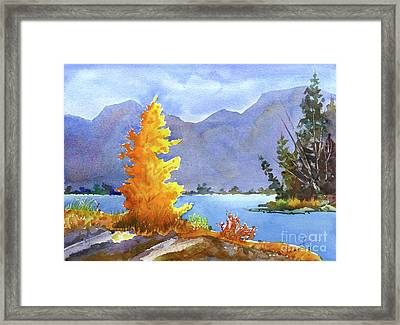 Canmore, Alberta Framed Print